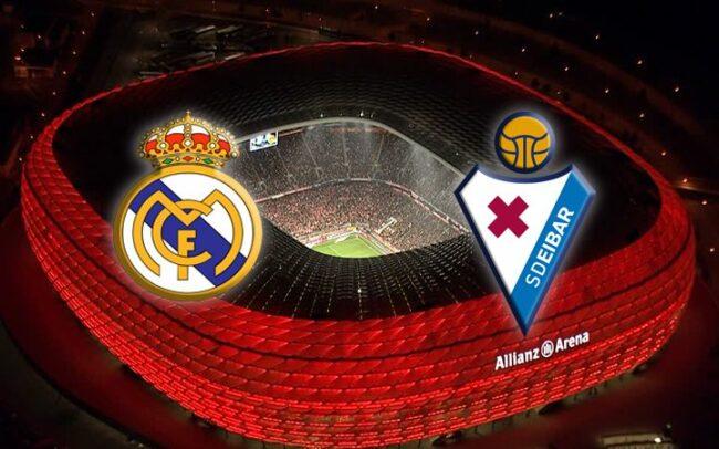 Матч Реал Мадрид — Эйбар