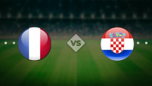 Матч Франция — Хорватия