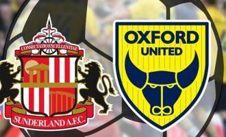 Матч Сандерленд — Оксфорд Юнайтед